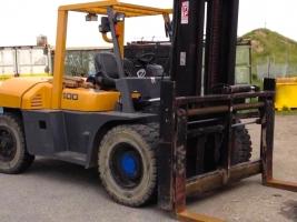 Rental of Heavy Forklift & Side Loader